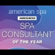 American Spa Magazine Spa Consultant Of The Year