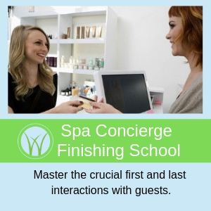 Spa Concierge Finishing School Sidebar