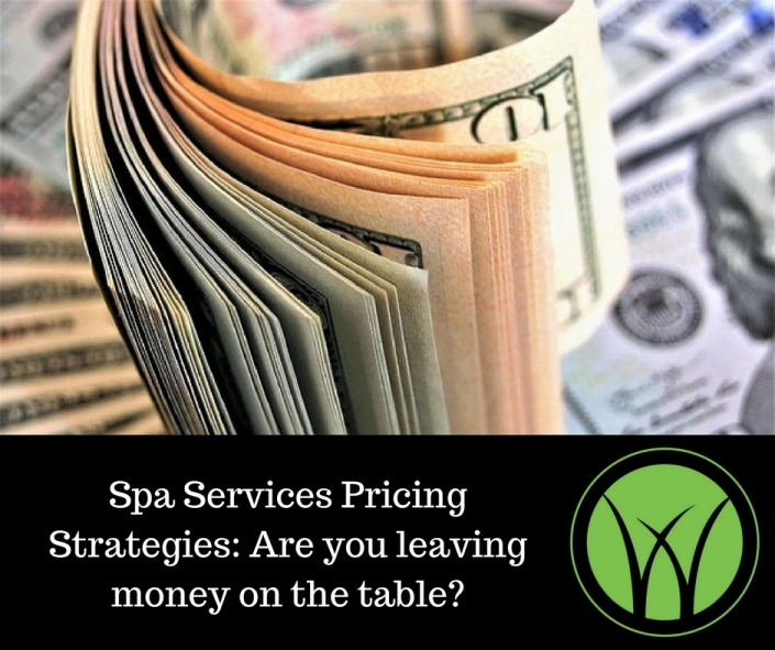 Spa Services Pricing