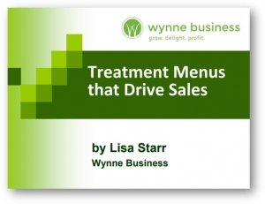 Treatment Menus that Drive Sales
