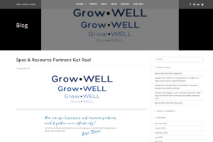We Work Well Grow Well Blog
